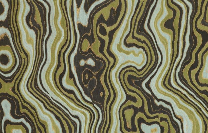 burled wood veneer