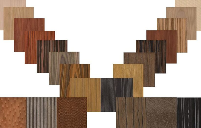 faux wood veneer
