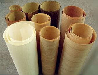 wooden veneer