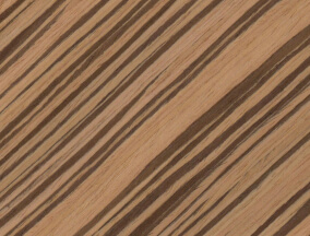 engineered veneer zebrano A114S