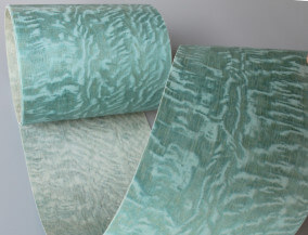 profile wrapping veneer dyed veneer