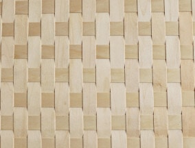 woven maple veneer