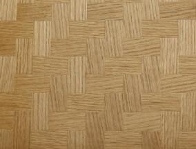 woven oak veneer