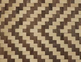 woven walnut birch veneer