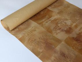 paper back Gold Nanmu burl veneer