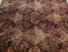 walnut burl veneer sheet