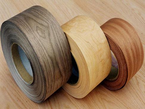 wood veneer rolls