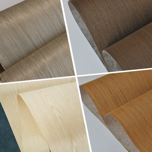 fleece backed engineered veneer