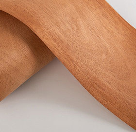 fleece backed mahogany veneer