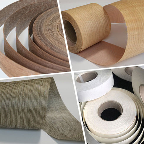 fleece backed veneer rolls