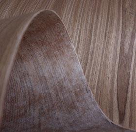 fleece back engineered veneer
