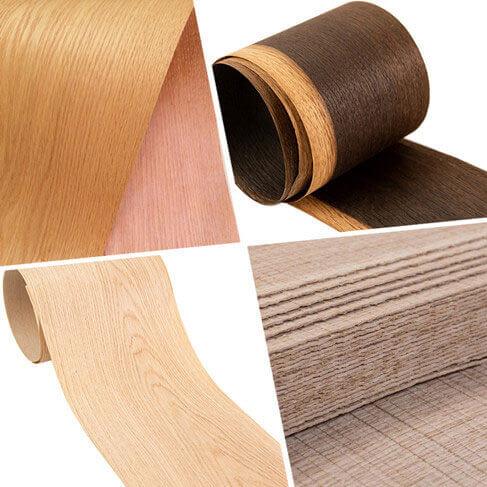 American white oak veneer sheets