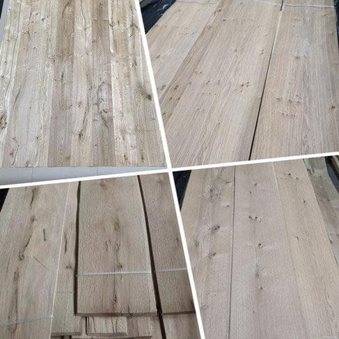 knotty antique rustic white oak veneer